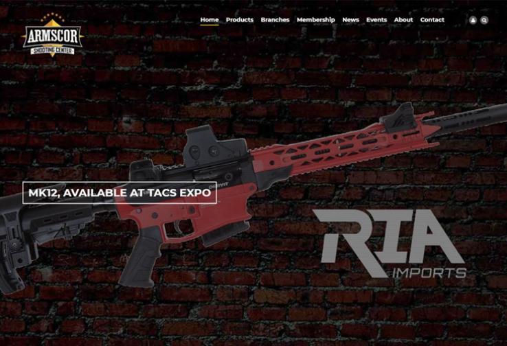 Armscor-Drupal-website-design-development-guns-ammo.jpg